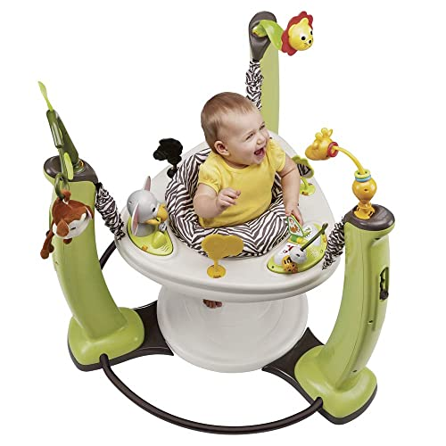 Evenflo ExerSaucer Jungle Quest, Jump and Learn Jumper