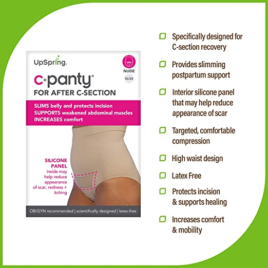 UpSpring Baby C-Panty High Waist C-Section Recovery & Slimming Panty