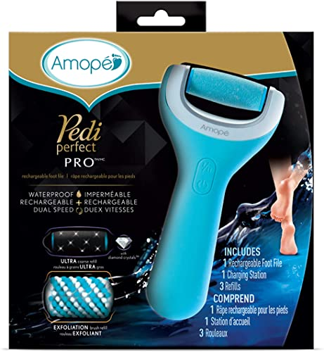 Electronic Foot Callus Remover (wet & dry) by Amopé Pedi